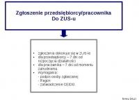 Krok 5. Zgłoszenie przedsiębiorcy i jego pracowników do zakładu ubezpieczeń społecznych (ZUS)